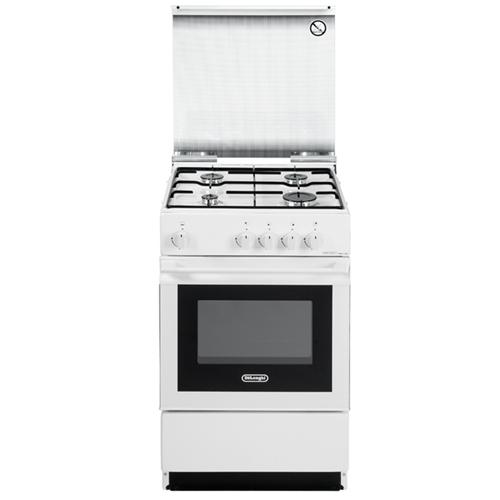 Sgw554gnn sgw 554 gn n cucina con forno a gas 4 fuochi - Delonghi cucina a gas ...